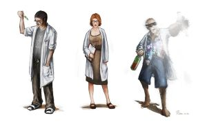 Scientists by Stoupa