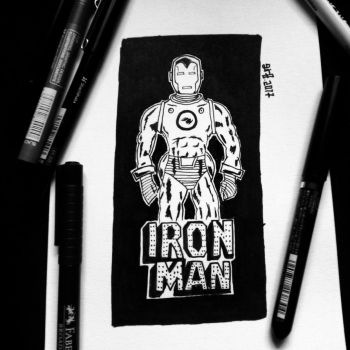Iron Man by the-gr8-art