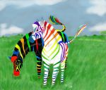 Zebras Brighter Than Evah by Raph1966