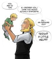 FMA: Hohenheim and Son by ladymadeofglass
