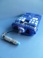 Doctor Who TARDIS Phone Case by NerdGirlRae87