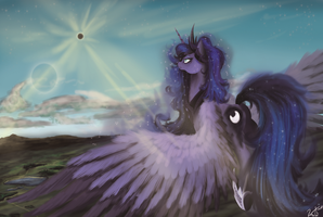 The Eclipse tomorrow by Vinicius040598