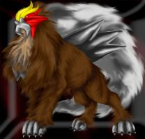 Entei by ReisKitten