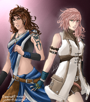 Fang and Lightning by JustLex
