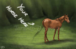 Your Horse Here Auction - OPEN by Tattered-Dreams