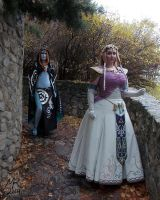 Midna and Zelda: Twilight Princess by VFire