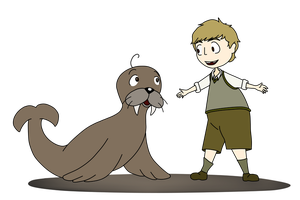 John and Walrus by brewe