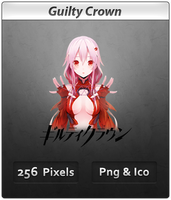 Guilty Crown v2- Anime Icon by DevilL-Dante