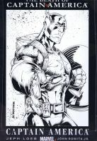 Captain America Sketchcover by adelsocorona