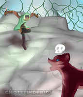 Rune vs Red Wolf by ChronoWither