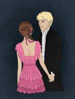 Dramione by kimpertinent
