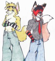 Tache and Ryan awesome by Ryan-the-fox