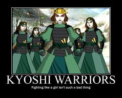 Kyoshi Warriors by vicky721