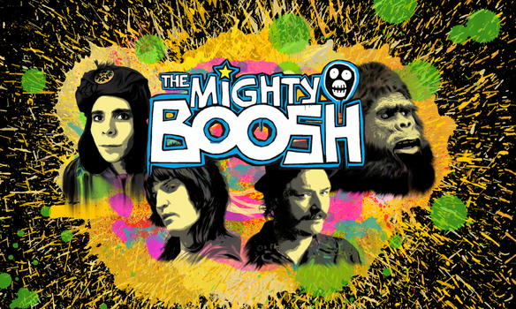 The Mighty Boosh by Monmei