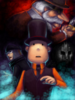 Layton - Knights of the Round by nattherat