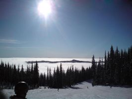 Lake of Clouds by AlphaAlec