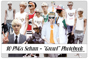 Pack 10 PNGs Sehun by SickyJinny