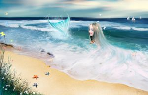 Mermaid by ecilARose