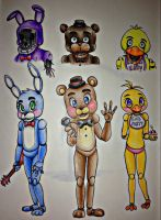 Five Night's at Freddy's 2 by CrystalX123