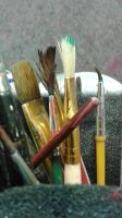 Paint Brushes by Starlight1514