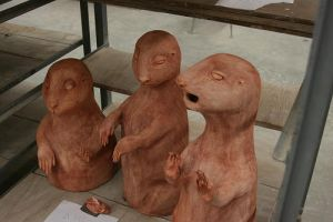Giant Evil Prairie Dogs by VandaLann