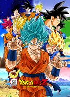 Poster Dragon Ball Z 27 Aniversario by Frost-Z