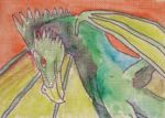 ACEO - Dragon by Vampiric-Conure