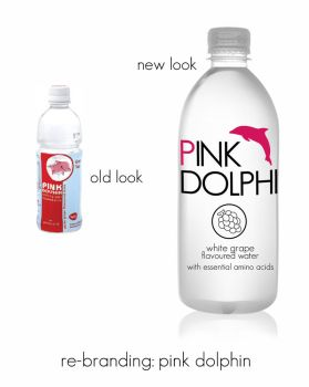 Pink Dolphin Re-design by cloudcover