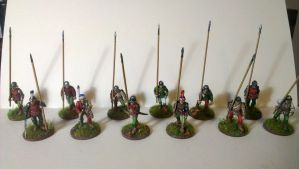 My pike block for 28mm Wargames by Ludwig1920