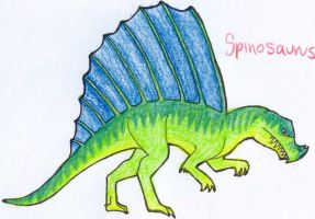 Spinosaurus by qwerty1198