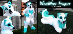 WindWolf Fursuit 2014 by WindWo1f