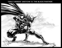 BLACK PANTHER by caananwhite