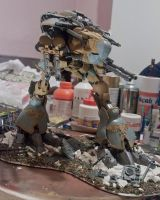 Warhound WIP 5 by HobbyV