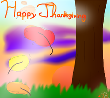 Happy Thanksgiving!!! by JJ-cat