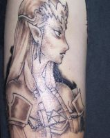 my tattoo of princess zelda by horrorpictures