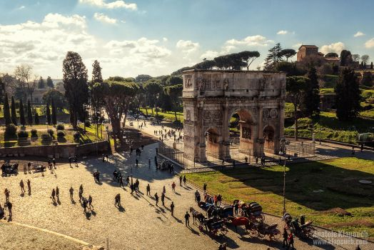 Arco di Costantino by klapouch