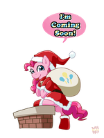 Coming soon: Pinkie Santa! by norang94