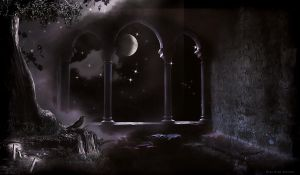 MAGIC WINDOW PREMADE BG..HALLOWEEN COLLECTION by VaL-DeViAnT