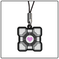 1-inch Charm - Weighted Companion Cube (Out Now) by DivineJayce