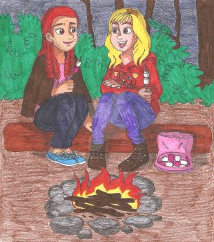 camping trip by gata20
