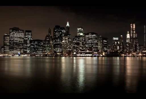 NYC skyline by Lisa-M-T