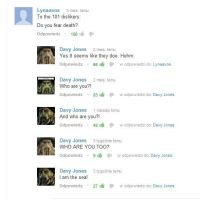 The best You Tube argument EVER by Oceansoul7777