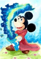 Mickey magique by ZeldaPeach