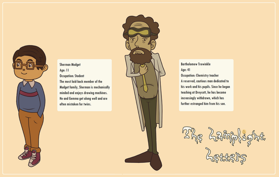The Lamplight Letters - Character Bios - 10 by Misthallery