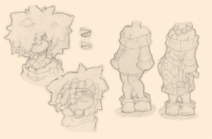 Roda's and Blade's Mom Concept Sketches by Air-City