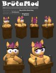 BrutaMod 3D Character Turn Around by avidlebon