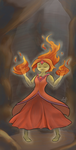 Flame Princess by FrukeChan