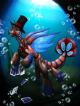 Underwater Magician by Cryophase