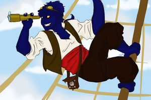 SkyPirate Nightcrawler by IllustratedJai