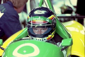 Thierry Boutsen (Great Britain Tyre Test 1988) by F1-history